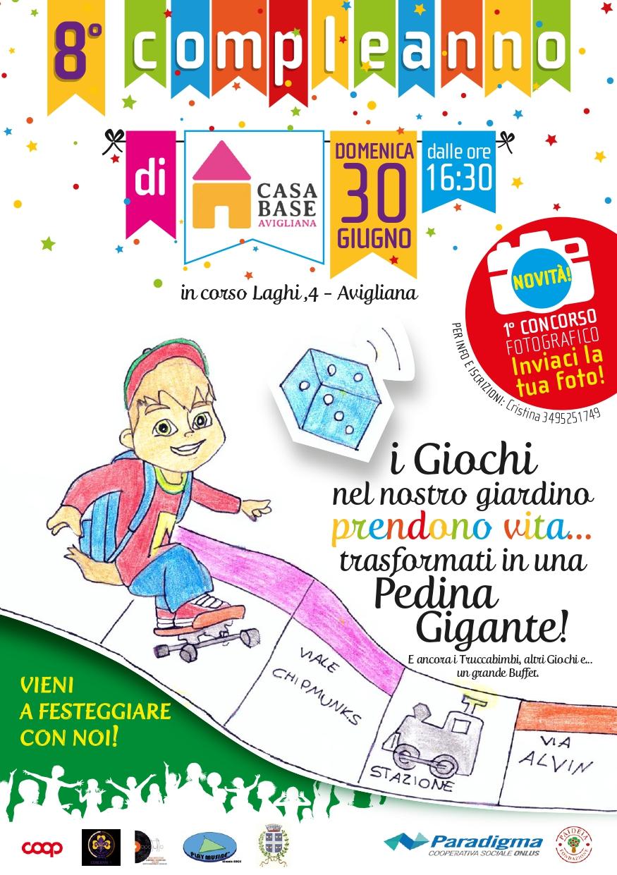 Festa di compleanno 2019 Casa Base Avigliana