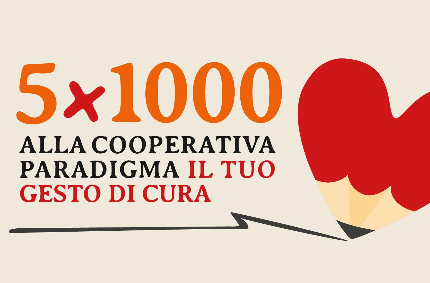 5×1000: il tuo gesto di cura!