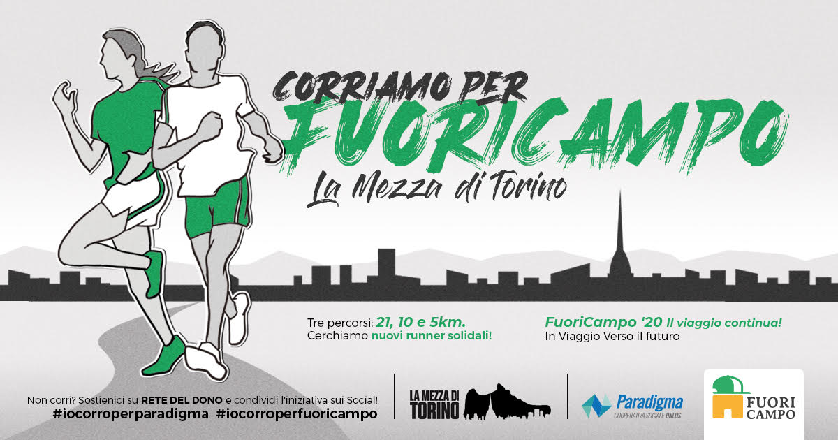 Charity Run 2020 | Una corsa/camminata per CasaBase e FuoriCampo