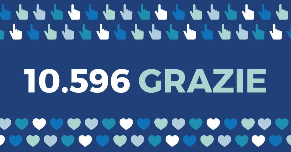 CLICK – Il Mio Dono: 10.596 grazie!