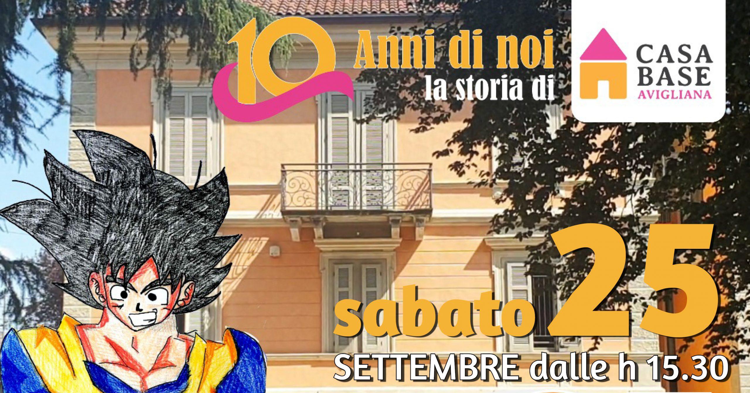 You are currently viewing 25 settembre: 10 anni di Casa Base Avigliana